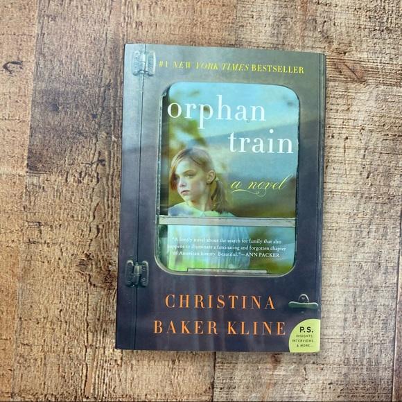 Orphan Train Historical Fiction Book